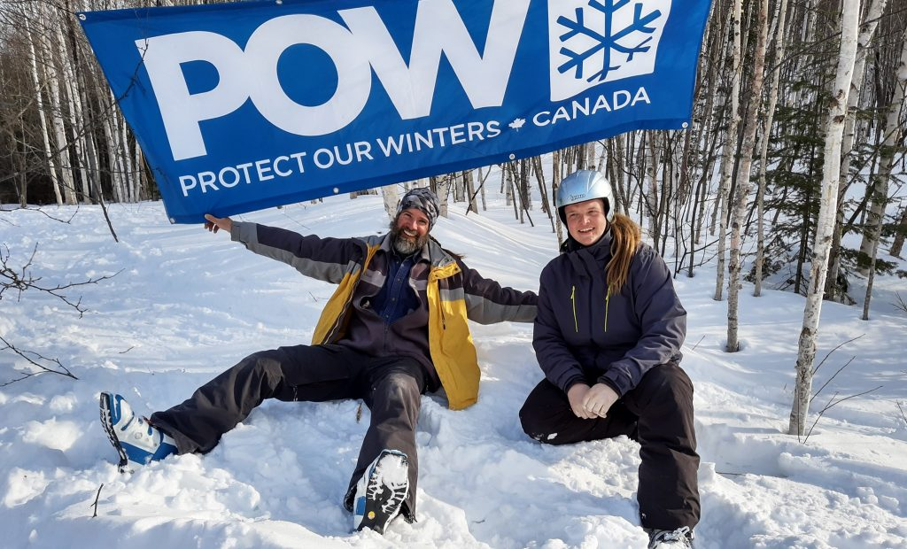 The POW sign at world tele day