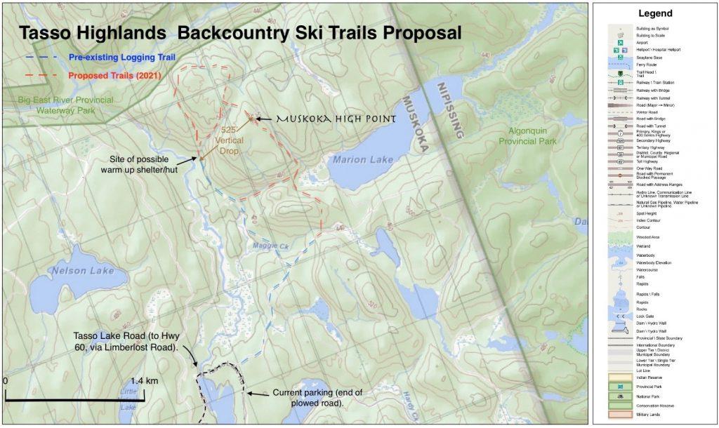 Tasso Lake Ski Trails Proposal